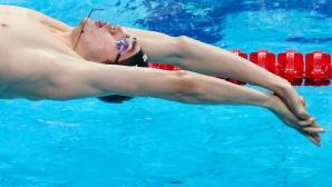 17-годишно руско чудо спечели първата титла на ЕП по плуване със световен рекорд