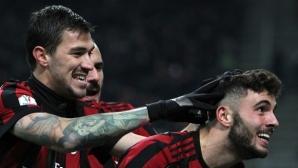 """Милан срещу Интер за Купата след разгром на """"росонерите"""" (видео)"""