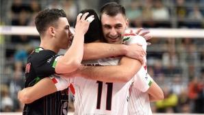 Цецо Соколов с 26 точки в драма срещу ЗАКСА, Лубе на полуфинал