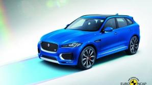 Jaguar F-Pace получи пет звезди за безопасността си