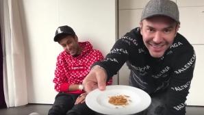 Неймар си хапнал хлебарки и червеи, докато бил в Бразилия (видео)