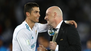 Роналдо: Винаги говоря на терена