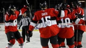Отава победи Монреал в юбилейната класика в НХЛ
