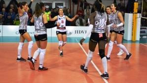 Петя Баракова и Славина Колева водят Волей (Алба-Блаж) към 6-а поредна победа в Румъния