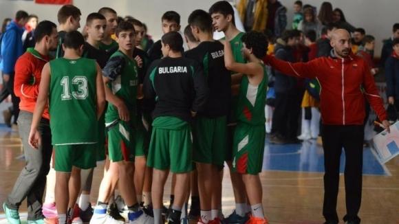 Младите български баскетболисти заминаха за Балканиадата в Румъния