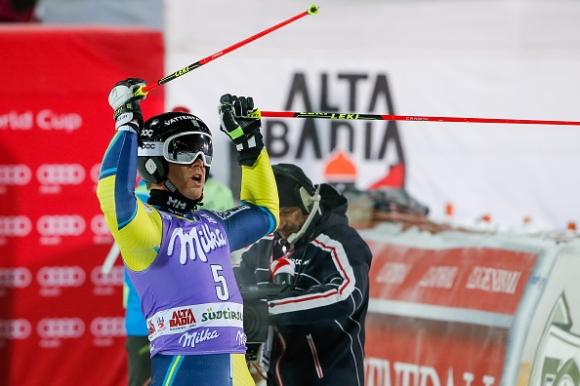 Шведът Матс Олсон спечели паралелния гигантски слалом в Алта Бадия