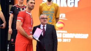 Цецо Соколов в идеалния отбор на клубния Мондиал