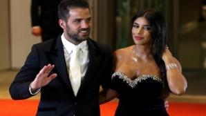 Фабрегас най-накрая се престраши да предложи брак на красивата Даниела (галерия)