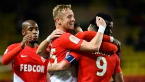 Монако мина по трудния път за четвърта поредна победа (видео)