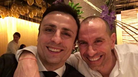 Бербатов и Мартин Петров празнуват заедно Нова година