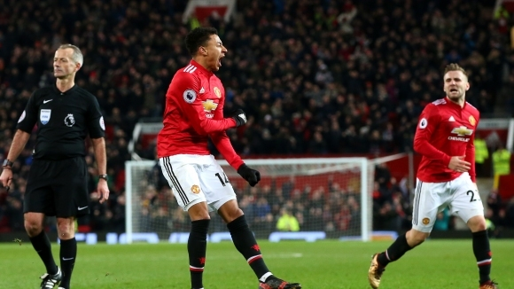 """Гол в добавеното време спаси Ман Юнайтед от загуба на """"Олд Трафорд"""" (видео)"""