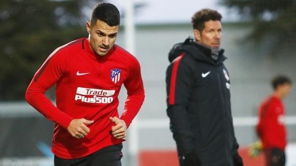Витоло започна тренировки с Атлетико