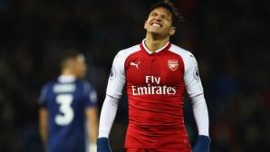 Разочарование за Арсенал в исторически мач за Венгер (видео)