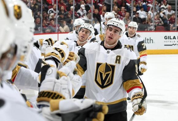 Лас Вегас победи Аризона в единствения мач в НХЛ тази нощ