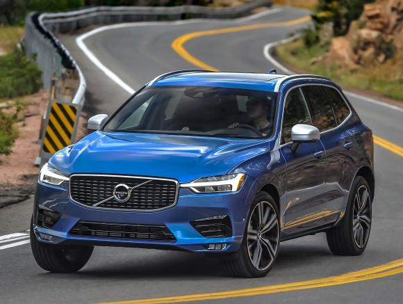 Volvo XC60 доказа, че е най-безопасният автомобил за 2017 г.