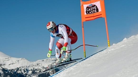 Световният шампион Беат Фойц с втора победа в спускането във Венген