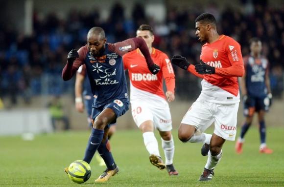 Монако изпусна две точки като гост на Монпелие (видео)