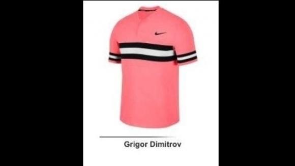 Григор Димитров ще бъде в розово на Australian Open