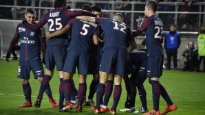 Прагматичен ПСЖ на 1/2-финал за Купата на Лигата (видео)