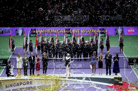 Финалите на WTA се местят в Китай