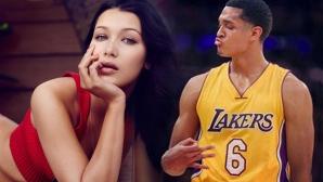 Бела Хадид е лудо влюбена в баскетболист на Лейкърс