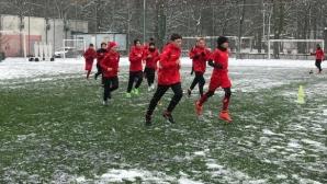 Юношите на ЦСКА-София започнаха подготовка