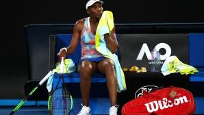 Американска трагедия в първия ден на Australian Open