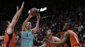 Везенков и Барселона с поражение в Евролигата