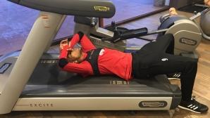 Двойни натоварвания за Каранга, бразилецът ще тренира извънредно и без почивка (видео)