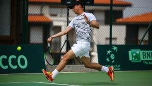 Кузманов е на 1/4-финал в Анталия