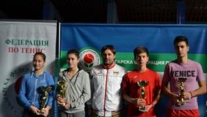 Пенев и Юсева спечелиха титлите от държавното първенство за юноши до 18 години
