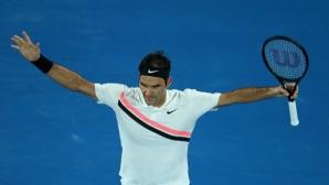 Федерер все така безмилостен в Australian Open
