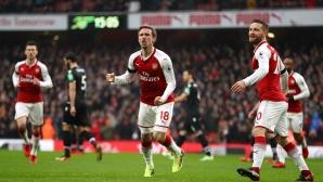 Арсенал - Кристъл Палас 3:0 (гледайте на живо)
