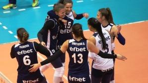 Волейболистките на Левски подновиха сезона с победа