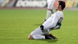 Славия - Ахмат 0:2 до 14-ата минута, гледайте мача пряко тук
