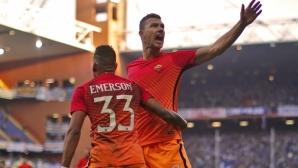 Челси договори двойния трансфер от Рома