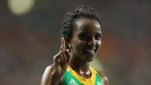 Тирунеш Дибаба потвърди участие на маратона в Лондон