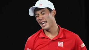 Нишикори загуби първия си мач след завръщането