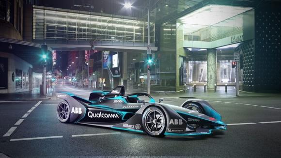 Новият болид на Формула Е ще достига над 300 км/ч (снимки+видео)