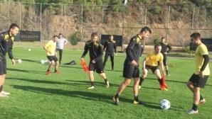 Ботев (Пд) играе трета контрола в Турция днес