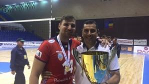 Ники Желязков се завръща в Румъния, пое шампиона Залъу