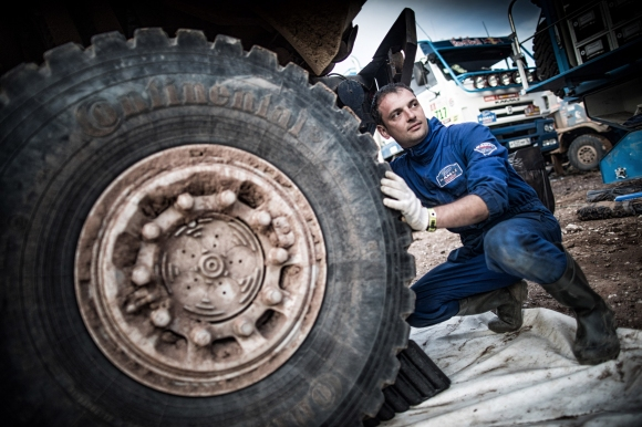 С какви гуми Kamaz спечелиха Дакар?