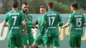 Ботев (Враца) вкара 4 на Спартак (Пл) само за 45 минути игра