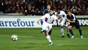 Лион на 1/4-финал за Купата на Франция след пауза от 6 години (видео)