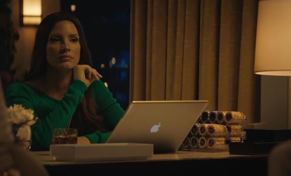 """Джесика Частейн блести в """"Принцесата на покера"""""""