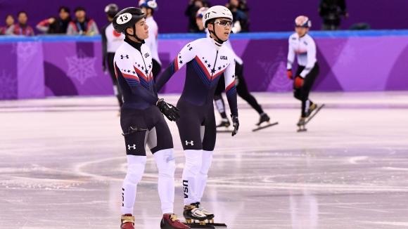 Корейската щафета постави олимпийски рекорд на полуфиналите в шорттрека