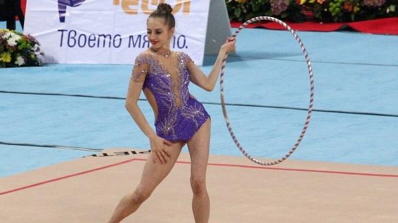 Боряна Калейн спечели последното контролно на гимнастичките преди Гран При на Москва