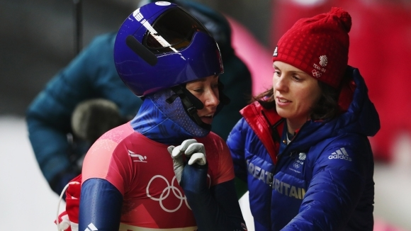 Лизи Ярнолд спечели олимпийската титла в скелетона при жените