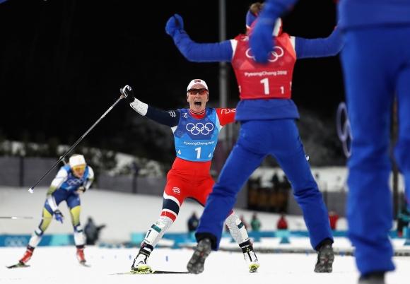 Марит Бьорген е най-успешната състезателка в историята на зимни олимпиади