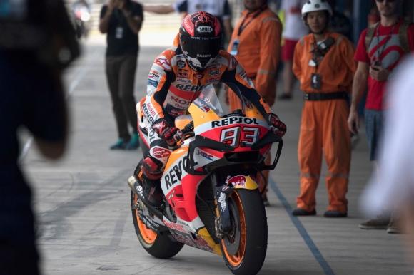 Маркес оглави втория тестови ден от MotoGP в Тайланд (видео)